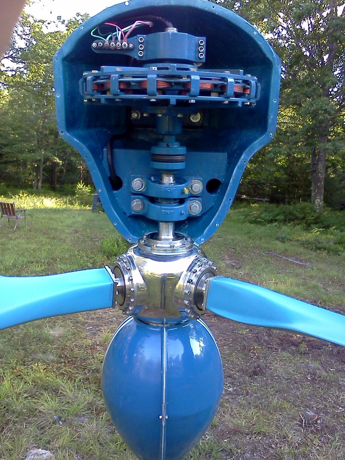 Tipod Frame Turbine